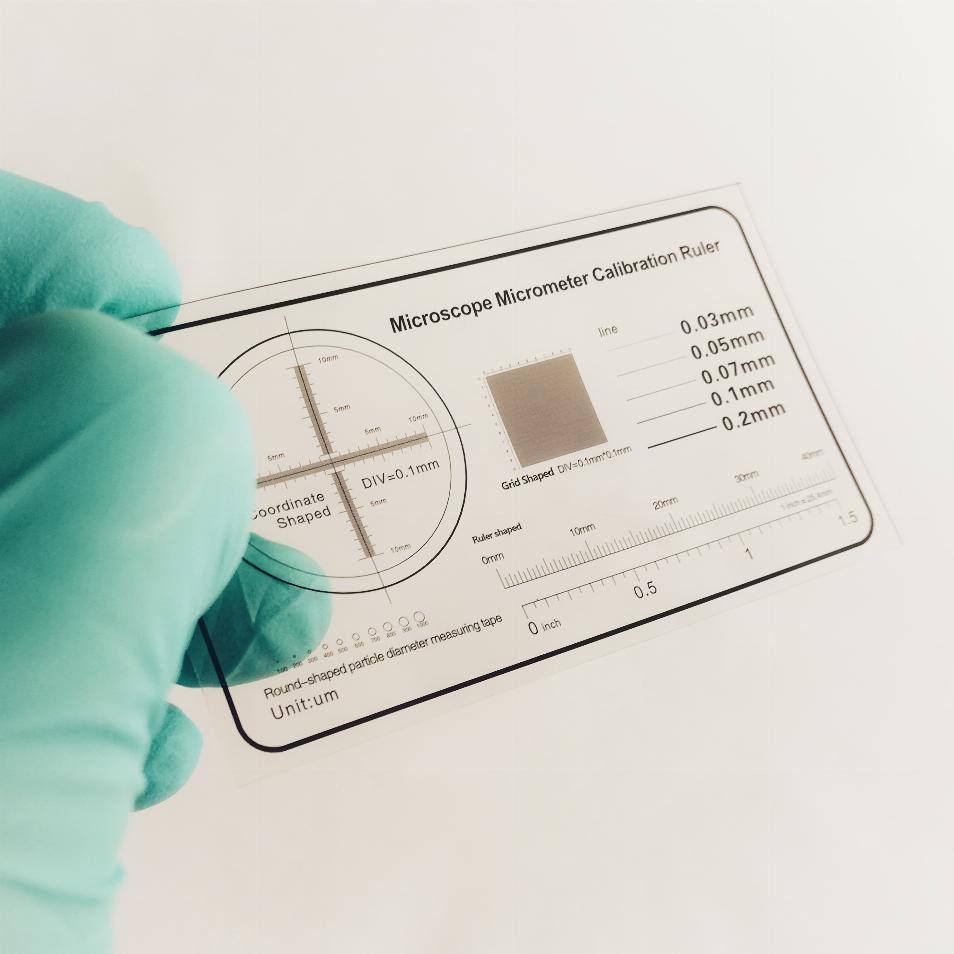 Microscope Calibration Sheet